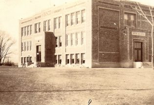 Berthoud High School once stood at corner of Ninth and Massachusetts