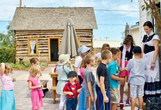 Learning Berthoud's history
