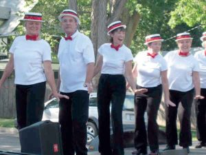 The Wildfire tap dance troupe, Tap Roots, will perform at this year's Wildfire Street Dance Festival scheduled for this Saturday, Sept. 13. The festival will be in the street directly in front of Wildfire Arts Center, located at 425 Massachusetts Ave. in Berthoud.  The Surveyor