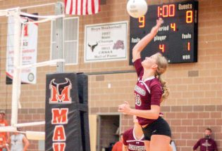 Volleyball improves during busy week