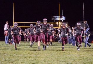 Sky's the limit for Berthoud football