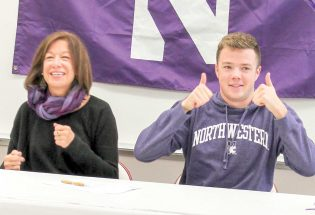 Thorne makes splash with Northwestern