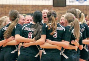 Spartans volleyball psyched for state championships