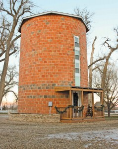 The Silo Bed and Breakfast is a new unique addition to Berthoud.  Heidi Kerr-Schlaefer / The Surveyor