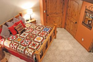 Sleeping accommodations are second to none at the Silo Bed and Breakfast.  Heidi Kerr-Schlaefer / The Surveyor