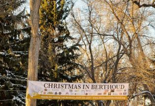 The impact of Christmas in Berthoud