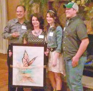 Citizens of the Year: Dave and Julia Sabados and Kevin and Mia Sabados Humacher.