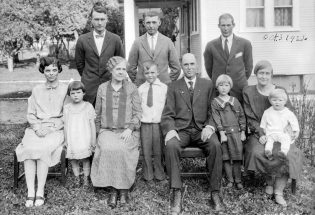 Tracing a family's history
