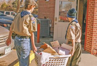 Scouting for Food has biggest year ever