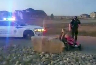 Video of Berthoud deputy pulling over 9-year-old in play car goes viral