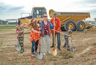 Berthoud family gets a place to call home