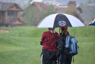 Golfin' in the rain, Boruff cards experience