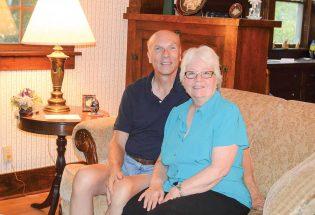 Homecoming grand marshals: Stu and Barbara Boyd