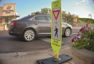 Town, CDOT collaborate on pedestrian signs along Mountain Ave.