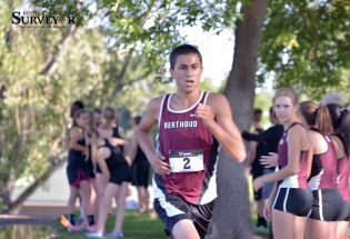 Cross country win a birthday gift for coach