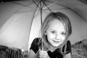 Petrovich enjoys portraiture. In this exquisite black-and-white shot, Petrovich captured her niece Annika Isakson in 2013.