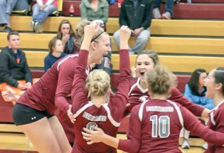 Volleyball gets huge win in Windsor