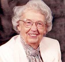 "Elizabeth ""Betty"" McMichael: Feb. 15, 1921 ~ Oct. 26, 2015"