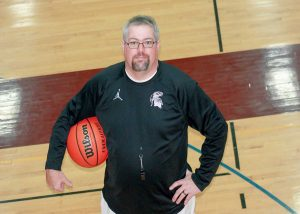 New Berthoud head boys basketball coach Mike Burkett is looking forward to surprising some of the Tri-Valley competition this season with a core group of returning starters. Angie Purdy / The Surveyor