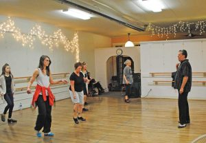 Renowned tap dancer Tony Waag taught a class at Wildfire Art Center.  Submitted photo