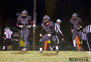 Berthoud football falls to Roosevelt to end season