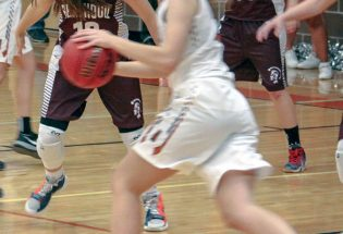 Girls split contests with Mead, Holy Family
