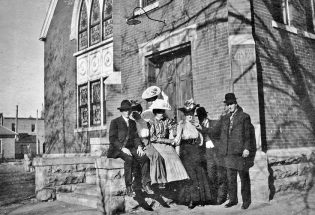 BHS graduation was held at UB Church in 1907