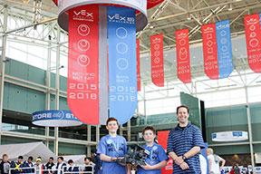 Berthoud Robotics Team competes at World Competition