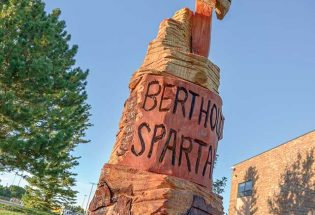 Spartan Tree stands proud at BHS, in honor of Spartans past, present, and future