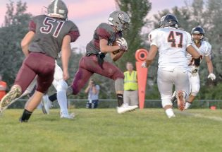 Spartans youth shows in 41-18 loss to Greeley Central