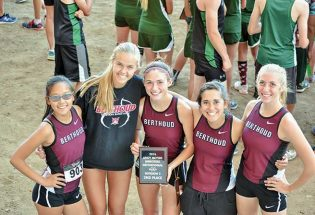 Girls cross country place second at Andy Myers Invite