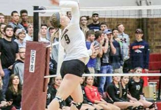 Berthoud Volleyball claims conference title