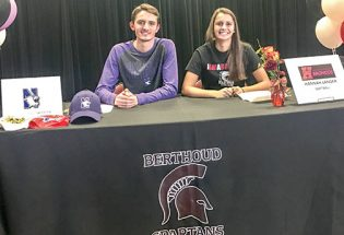 Berthoud's Gately, Langer sign national letters of intent