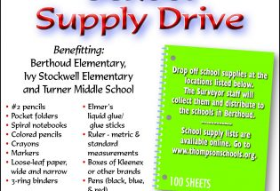 School Supply Drive going on now
