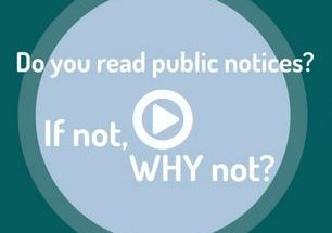Public Notices, your guide to government decisions