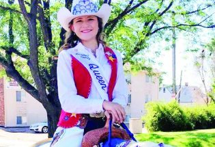 Larimer County Rodeo Queen's crowning achievement: Berthoud High Equestrian Club