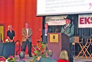 Local farmer receives lifetime achievement award