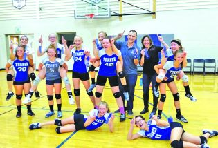 Turner Volleyball wins second-straight league title