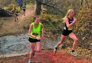 Berthoud cross country races at state meet