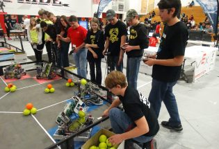 BHS involves students in robotics through club, after-school program