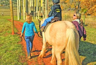 Therapeutic riding program depending on scholarships volunteers this holiday season