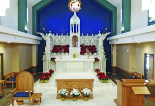 Guardian Angels Catholic Church offers services in new building, retains original church