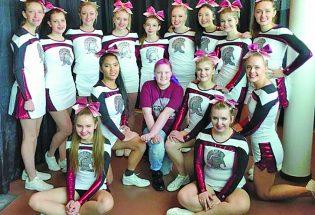 BHS cheer team reaches milestone as largest team in school's history