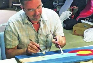 Berthoud artist Michael Magee featured at De Bean in January