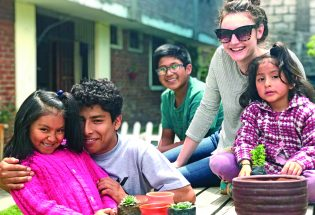 Berthoud resident Laura Moffitt volunteers at children's home in Peru