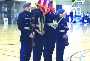 Junior ROTC places third in color guard, unit inspection