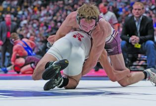 Berthoud's Austyn Binkly a State Champion – Spartans finish fourth as a team, five wrestlers medal