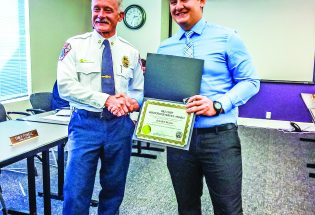 Reserve firefighter wins life-saving award