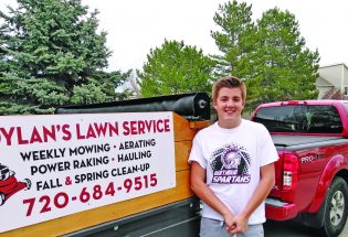 BHS student Dylan Carder launches lawn service business