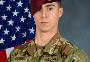 Soldier killed in Afghanistan identified as Spc. Gabriel D. Conde